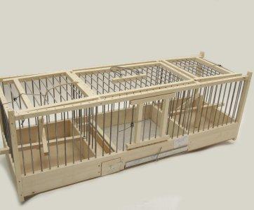 wooden cage alfavet